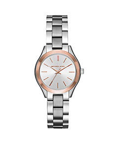 Michael Kors Women's Stainless Steel Mini Slim Runway Watch