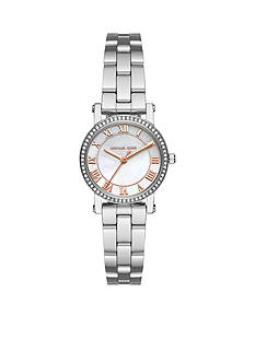 Michael Kors Women's Petite Norie Stainless Steel Three-Hand Watch