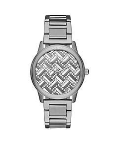 Michael Kors Women's Hartman Gunmetal Three-Hand Watch