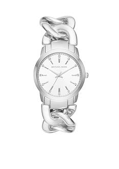 Michael Kors Silver-Tone Elena Watch