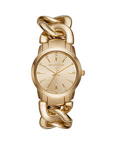 Michael Kors Gold-Tone Elena Watch