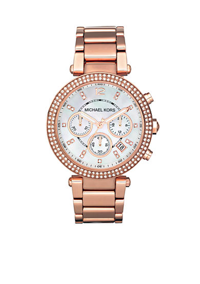 Michael Kors Rose Gold Parker Watch
