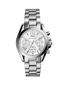 Michael Kors Stainless Steel Mini Bradshaw Watch