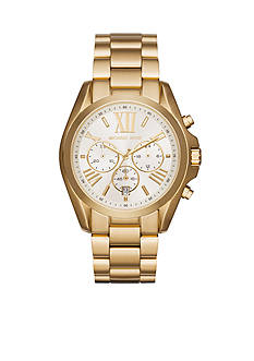 Michael Kors Women's Gold-Tone Bradshaw Watch