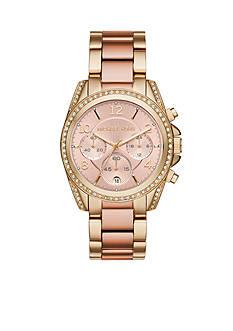 Michael Kors Women's Blair Two-Tone Chronograph Watch