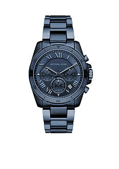Michael Kors Men's Brecken Blu IP Watch