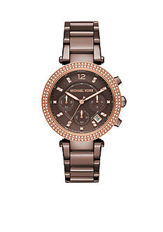 Michael Kors Women's Parker Sable Chronograph Watch