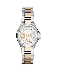 Michael Kors Two-Tone Mini Camille Multifunction Watch