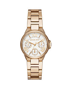 Michael Kors Gold-Tone Mini Camille Multifunction Watch