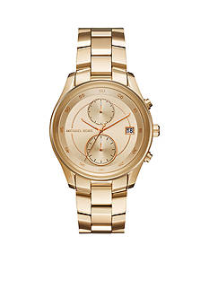 Michael Kors Women's Briar Gold-Tone Multifunction Watch