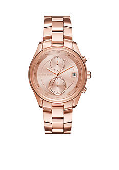 Michael Kors Women's Briar Rose Gold-Tone Multifunction Watch