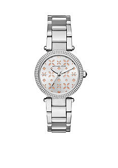 Michael Kors Women's Mini Parker Stainless-Steel Three-Hand Watch