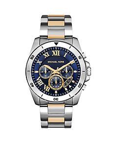 Michael Kors Men's Two Tone Stainless Steel Brecken Watch