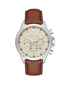 Michael Kors Men's Stainless Steel Egg Shell Gage Watch