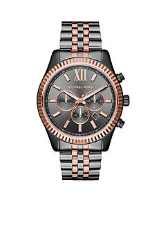 Michael Kors Men's Lexington Two-Tone Chronograph Watch