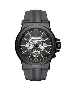 Michael Kors Men's Dylan Grey Silicone Watch
