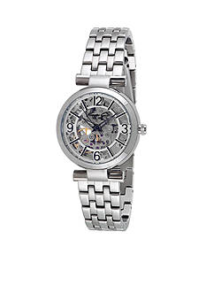 Kenneth Cole Women's Round Silver Automatic Movement Watch