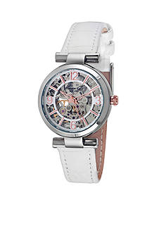 Kenneth Cole Women's Round Silver Automatic Watch