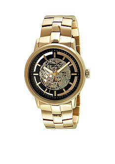 Kenneth Cole Men's Gold-Tone Automatic Movement Watch