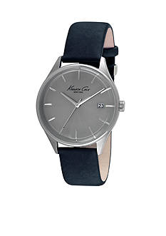 Kenneth Cole Men's Classic Leather Watch