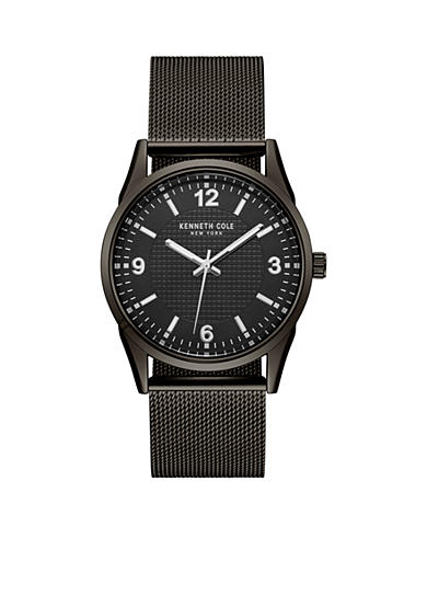 Kenneth Cole Men's New York Black Mesh Bracelet Watch