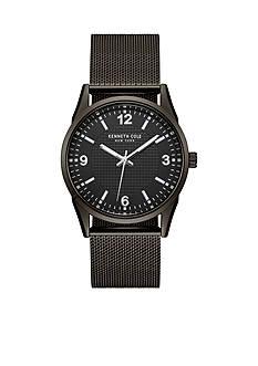 Kenneth Cole Men's New York Black Mesh Bracelet Watch