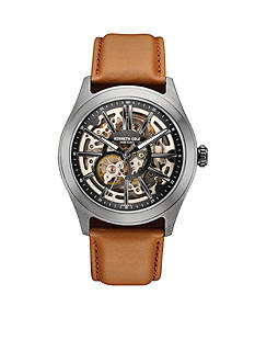 Kenneth Cole Men's Brown Leather Automatic Watch