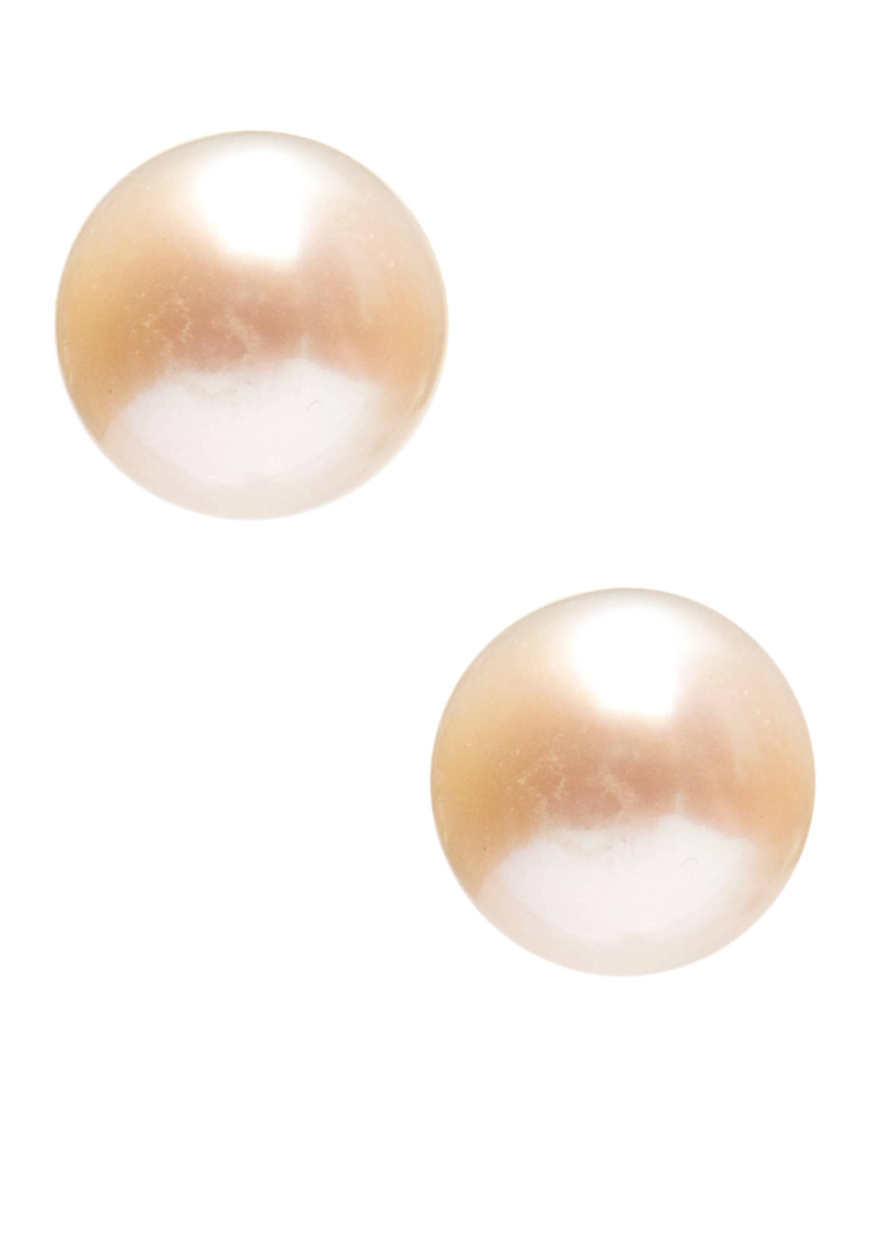 Belk Silverworks Sterling Silver Pearl Stud Earrings 580028396035 Images