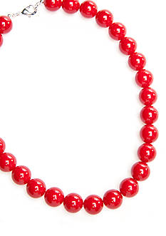 Kim Rogers® Red Bead Necklace