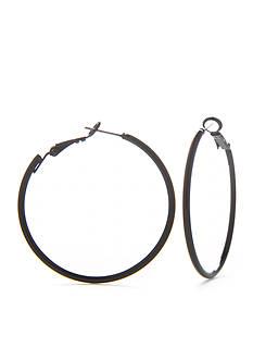 Kim Rogers Clickit Hoop Earring