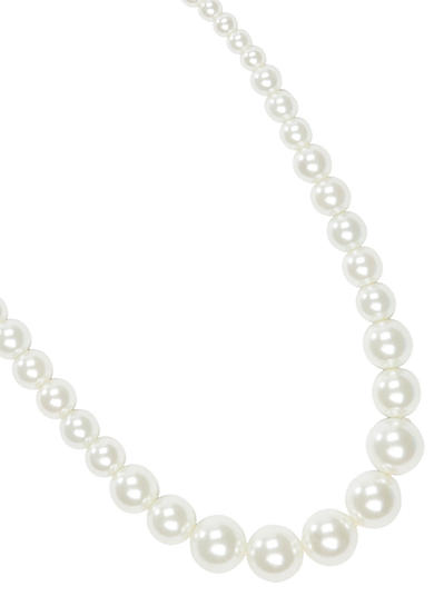 Kim Rogers® Graduated Pearl Necklace