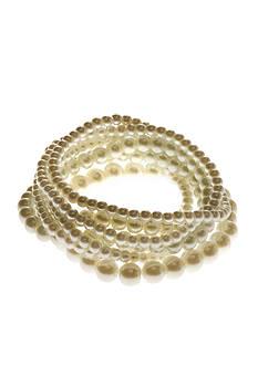 Kim Rogers® White Pearl 7 Row Stretch Bracelets