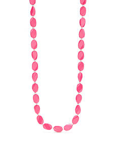 Kim Rogers Pink Lucite® Necklace