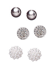 Kim Rogers® Stud Trio Earrings