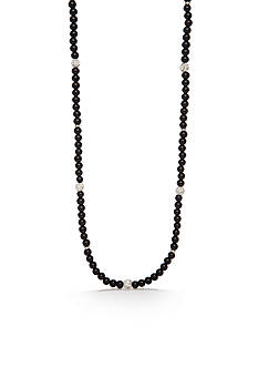 Kim Rogers Silver-Tone Long Necklace