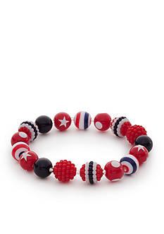 Kim Rogers Americana Lucite Stretch Bracelet