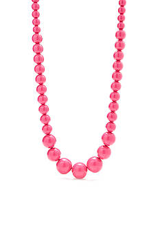 Kim Rogers Pink Lucite® Long Necklace