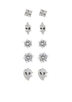 Kim Rogers Shaped Stud Earrings Set