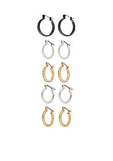 Kim Rogers Five in a Box Click Collection Earrings Set