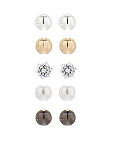 Kim Rogers® Ball Stud Earring Boxed Set