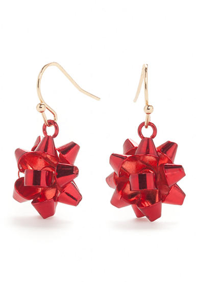Kim Rogers® Gold-Tone Holiday Drop Earrings
