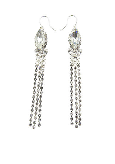 Kim Rogers® Silver Tassel Earrings
