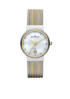 Skagen Women's Classic Striped Mesh Watch