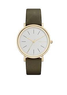 Skagen Women's Hald Leather Watch