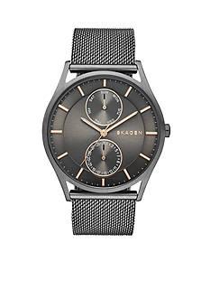 Skagen Holst Grey Mesh Watch
