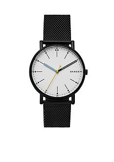 Skagen Signature Steel-Mesh Watch