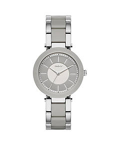 DKNY Wome's Silver-Tone Stanhope Three-Hand Watch