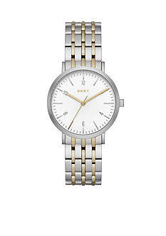 DKNY Women's Minetta Two-Tone Three-Hand Watch