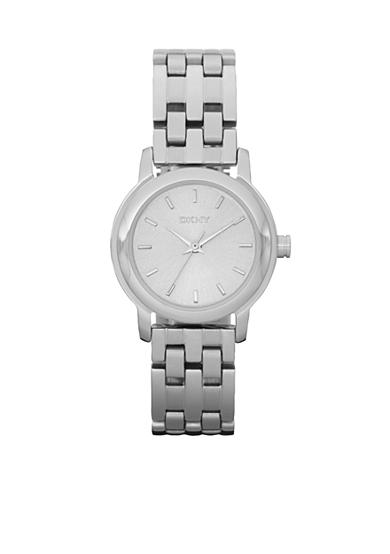 DKNY Silver-Tone Sunray Dial Park Avenue Watch