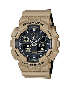 G-Shock Men's Sand with Black Accent Watch